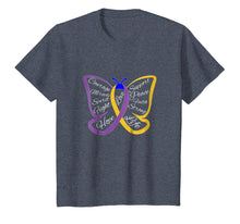Load image into Gallery viewer, Fight Bladder Cancer Awareness Butterfly Shirt for Men Women