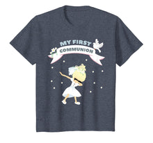Load image into Gallery viewer, First Communion dabbing Shirt for blonde Girls 2019