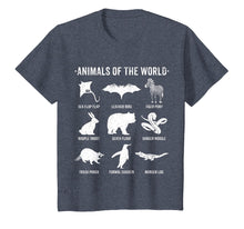Load image into Gallery viewer, SIMPLE VINTAGE HUMOR FUNNY RARE ANIMALS OF THE WORLD T-SHIRT