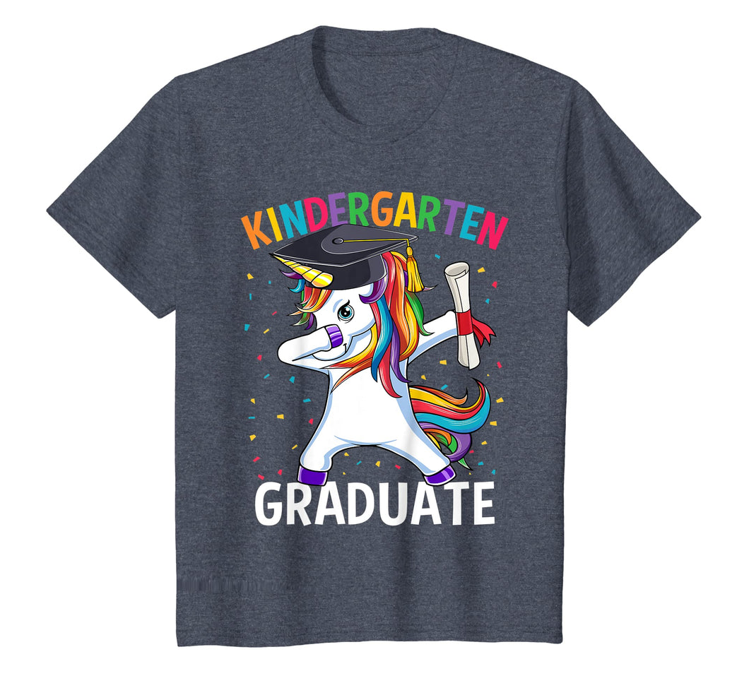 Dabbing Unicorn Kindergarten Graduation 2019 Gift T-Shirt