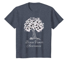 Load image into Gallery viewer, Brain Tumor Awareness T-Shirt Warrior Tree Hope Gift