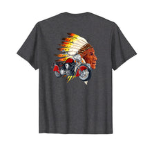 Load image into Gallery viewer, Indian Head Motorcycle Short Sleeve Shirt