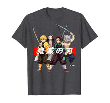 Load image into Gallery viewer, Demon Slayer Kanji Spelling Tee  T-Shirt