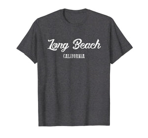 Long Beach T Shirt - California Souvenir Landmark Gift Shirt
