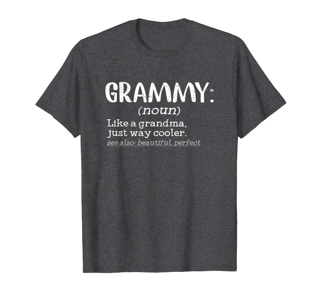 Funny Grammy Definition T Shirt Mother's  Day Gifts