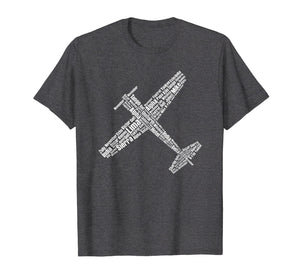 Aviation phonetic alphabet pilot flying shirt