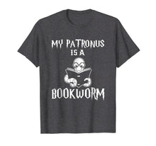 Load image into Gallery viewer, My Patronus Is A Bookworm T Shirts Funny For Book Lover