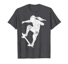 Load image into Gallery viewer, Skater Girl T-Shirt Skateboard Tshirt Gift Tee Skateboarder