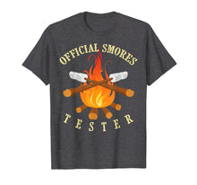 Load image into Gallery viewer, Official Smores Tester Shirt | Cute Legit S'more Taster Gift