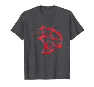 AWESOME SRT HELL CAT DODGE T SHIRT Red