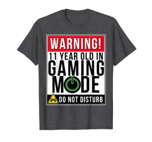 11th Birthday T-Shirt 11 Year Old Gamer