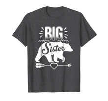 Load image into Gallery viewer, Big Sister Bear Shirt Arrow and Heart