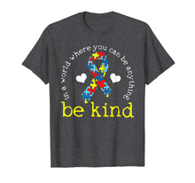 Load image into Gallery viewer, Autism Awareness Tshirt Kindness Puzzle Ribbon Heart T-Shirt