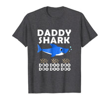 Load image into Gallery viewer, Daddy Shark Shirt, Fathers Day Gift from Wife Son Daughter