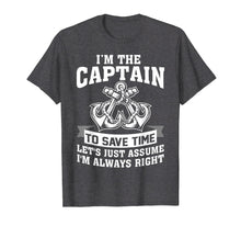 Load image into Gallery viewer, Captain Of The Boat Shirts