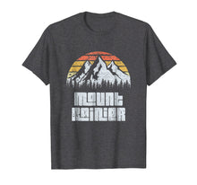 Load image into Gallery viewer, Mt. Rainier National Park Washington Mountains Retro T-shirt