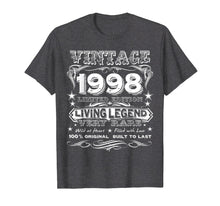 Load image into Gallery viewer, Vintage 1998 - Funny 21 Years Old 21st Birthday Gift T-Shirt