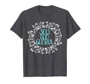 Soli Deo Gloria Women's Christian Reformed T-shirt