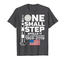 Load image into Gallery viewer, Apollo 11 Shirt One Small Step Moon Landing Lunar Tee
