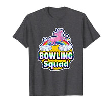 Load image into Gallery viewer, Bowling Squad Retro Cute Rainbow Unicorn Star Party T-Shirt