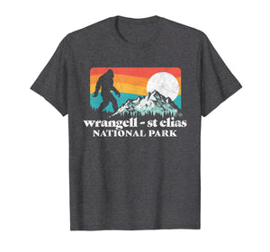 Wrangell St Elias National Park Bigfoot Mountains T-Shirt
