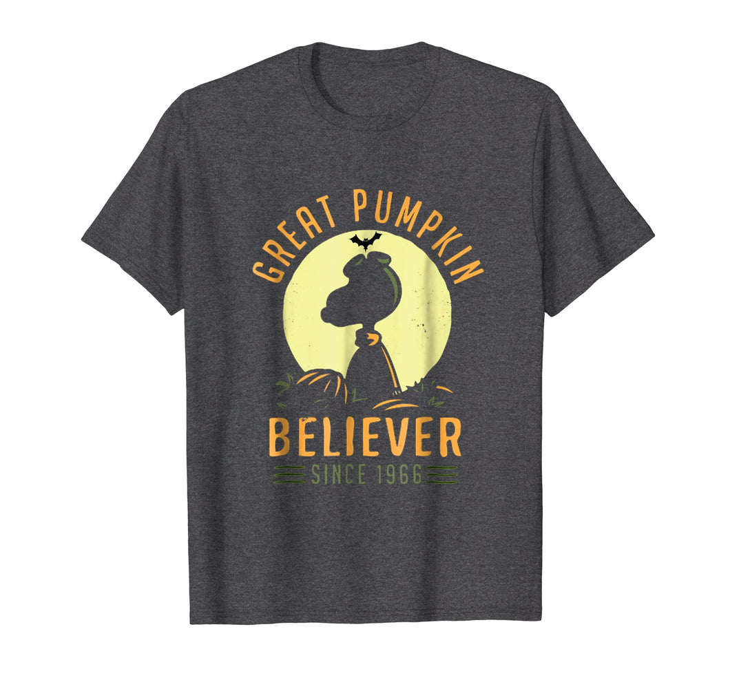 Peanuts-Great Pumpkin believer since 1966 Shirt | Halloween