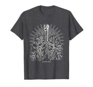 Breathe Easy Lung Anatomy T-Shirt
