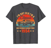 Load image into Gallery viewer, 65th Birthday Gift Ideas Classic 1954 T-shirt for Men Women