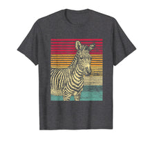 Load image into Gallery viewer, Retro Zebra T-Shirt Men Boys Women Girls