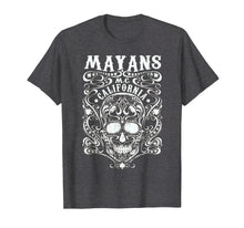 Load image into Gallery viewer, Mayan MC Apparel Vintage T Shirt Limited White Skull Anarchy