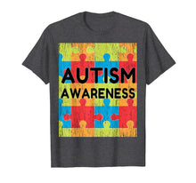 Load image into Gallery viewer, Mens Autism Awareness Distressed T-Shirt Autism Day gift