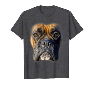 Animal Lover Gift Boxer Face Funny Dog Lovers T-shirt