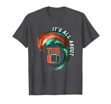 Load image into Gallery viewer, Miami Hurricanes Wave - All About The U T-Shirt - Apparel
