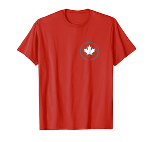 Canadian Maple Leaf shirt for people born in Canada