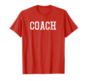 Sport Coach T Shirt Athletic Inspired Apparel