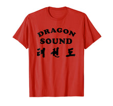 Load image into Gallery viewer, Sound Dragon Shirt T-shirt Tee