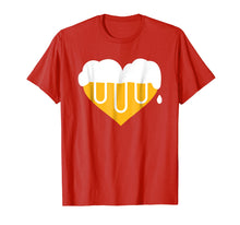 Load image into Gallery viewer, Beer heart T-Shirt