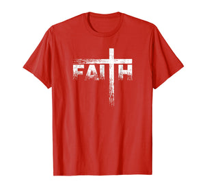 Christian Faith & Cross T-Shirt - Christian Faith T Shirts