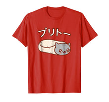 Load image into Gallery viewer, Kawaii T-Shirt: PURRITO Cat Japanese Version