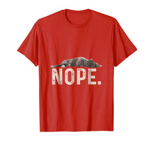 Load image into Gallery viewer, Nope Lazy Great Dane Dog Lover Gift T-Shirt