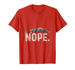 Nope Lazy Great Dane Dog Lover Gift T-Shirt