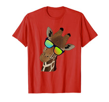Load image into Gallery viewer, Funny looking Giraffe Tshirt Gift idea for Giraffes & Zebras