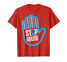 Load image into Gallery viewer, Child Abuse Awareness T Shirt - show your support for kids