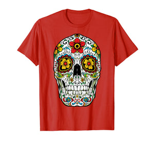 Day Of The Dead Sugar Skull Funny Cinco de Mayo Men Women T-Shirt