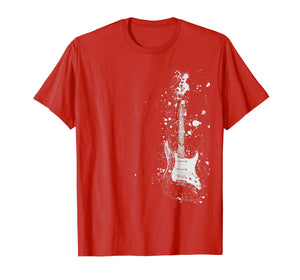Electric Guitar Themed T-Shirt