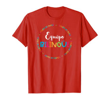 Load image into Gallery viewer, Equipo Bilingue Spanish Bilingual Crew Team Squad T-Shirt