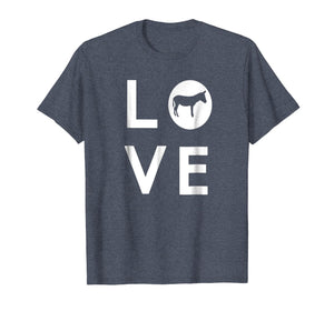 Cute Funny & Unique Donkey Animal Lover Gift T-shirt G002250