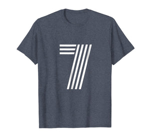 Number 7 - Lucky Number Seven T Shirt