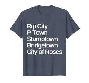 Portland Nicknames Oregon T-Shirt