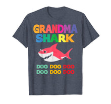 Load image into Gallery viewer, Grandma Shark Doo Doo Shirt for Matching Family Pajamas